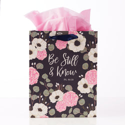 Be Still & Know Medium Gift Bag – Psalm 46:10