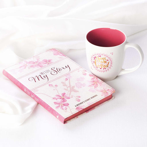 Mother's Day Prompted Journal and Mug Boxed Gift Set for Women