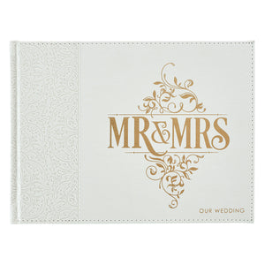 Mr and Mrs Wedding Guest Book