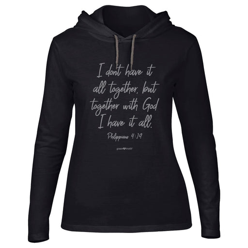 grace & truth Womens Hooded T-Shirt All Together