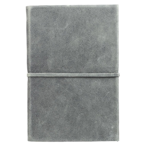 Change the World Soft Full Grain Leather Journal with Wrap Closure