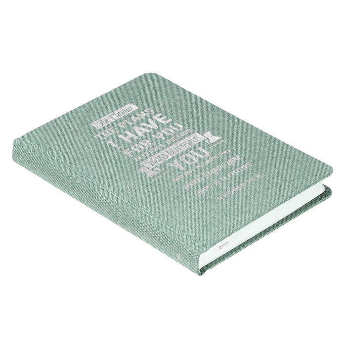 I Know The Plans Hardcover Linen Journal - Jeremiah 29:11