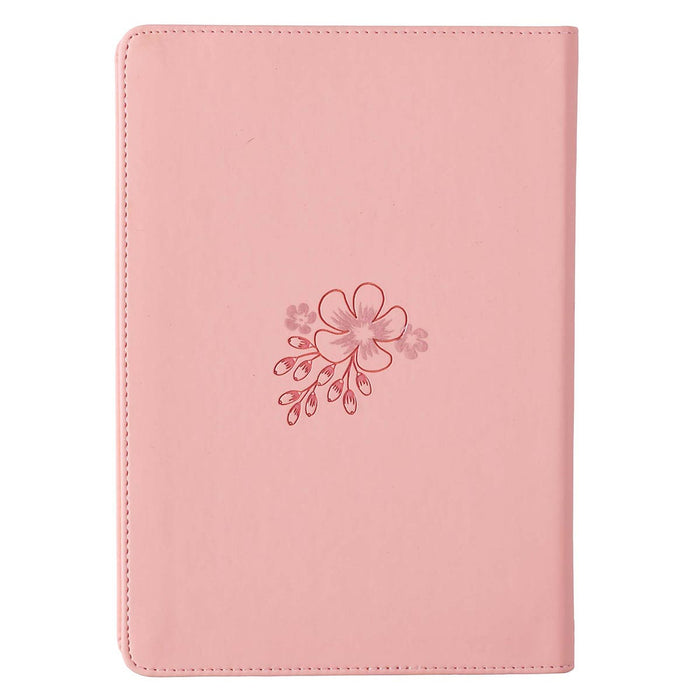 Faith Plants The Seed Faux Leather Journal in Soft Peach