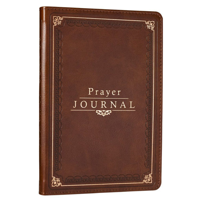 The Lord's Prayer LuxLeather Prayer Journal - Matthew 6: 9-13