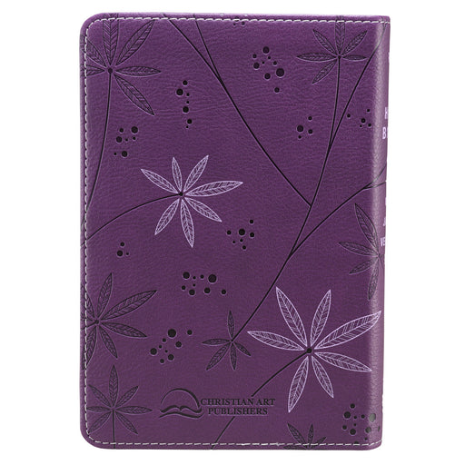 Purple KJV Bible Compact