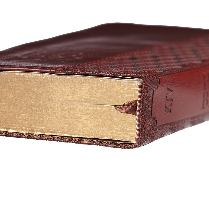 Brown KJV Bible Compact