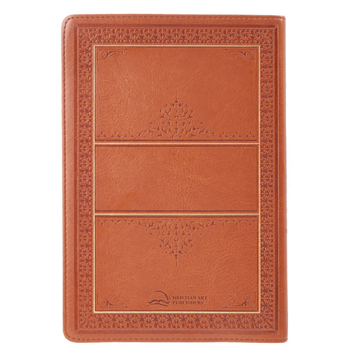 Tan KJV Bible Large Print