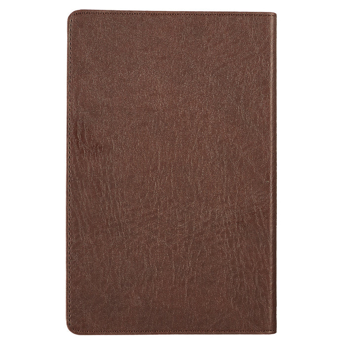 Patch in Brown KJV Bible Standard Size