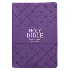 Purple KJV Bible Super Giant Print