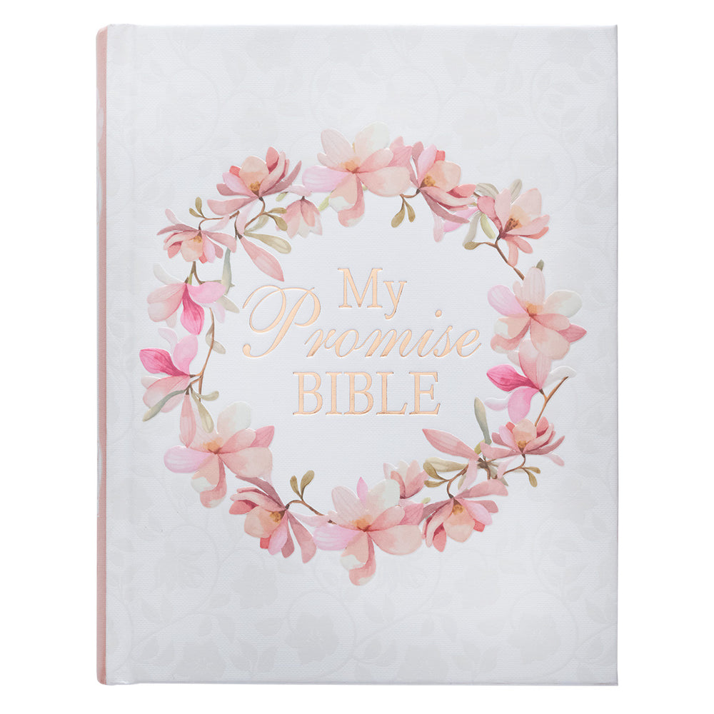 Hardcover My Promise Bible in Pink - KJV Journaling Bible