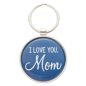 I Love You, Mom Keyring in Tin - Proverbs 31:29