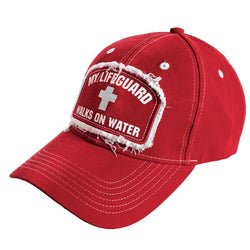 My Lifeguard Walks On Water Christian Cap ™