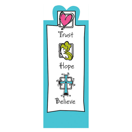Trust Hope Believe Magnetic Bookmark