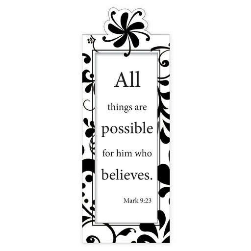 All Things are Possible Magnetic Bookmark