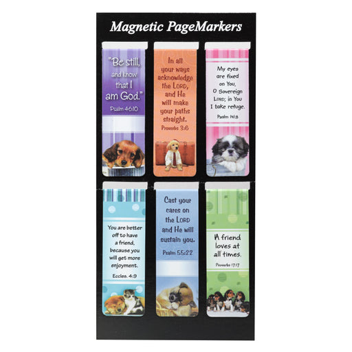 Puppy Bookmarks - Magnetic Bookmarks