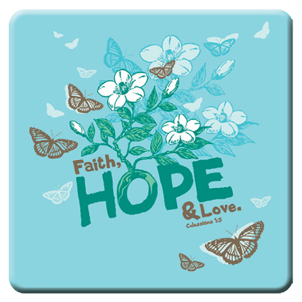 Faith Hope Love Magnet - Colossians 1:5