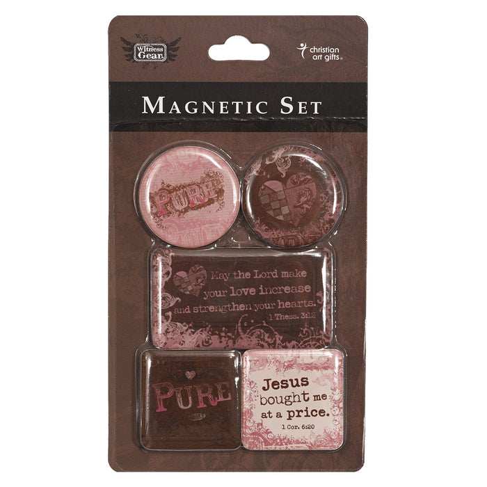 """Pure"" Magnetic Set In Packs of 3: $2.49 Each"