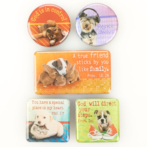 True Friend Pets Small Magnet Set - Proverbs 18:24