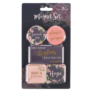 I Know The Plans Magnet Set – Jeremiah 29:11