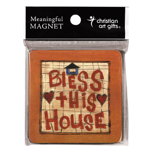"""Bless This House"" Wood Magnet In Packs of 3: $2.49 Each"