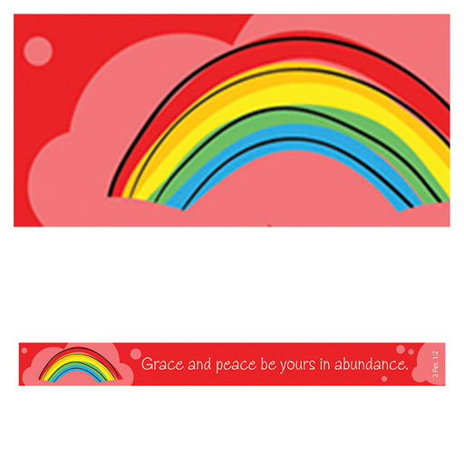 """Grace and Peace"" Magnetic Strip In Packs of 6: $0.50 Each"