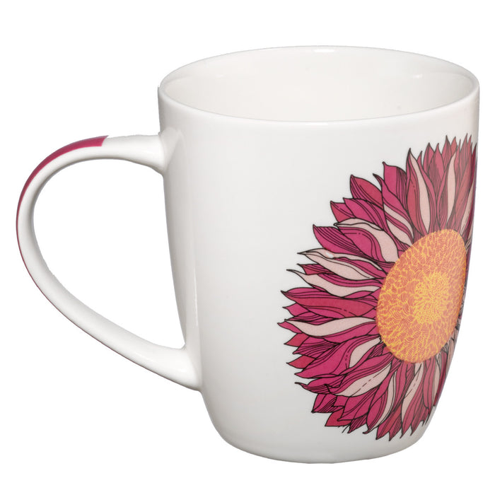 I know the Plans with Pink Flower Jeremiah 29:11 Coffee Mug