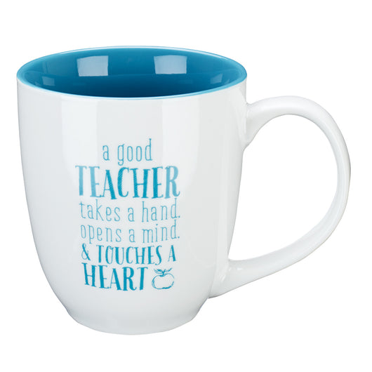 Blessings to the Teacher in Blue 1 Corinthians 16:14 Coffee Mug