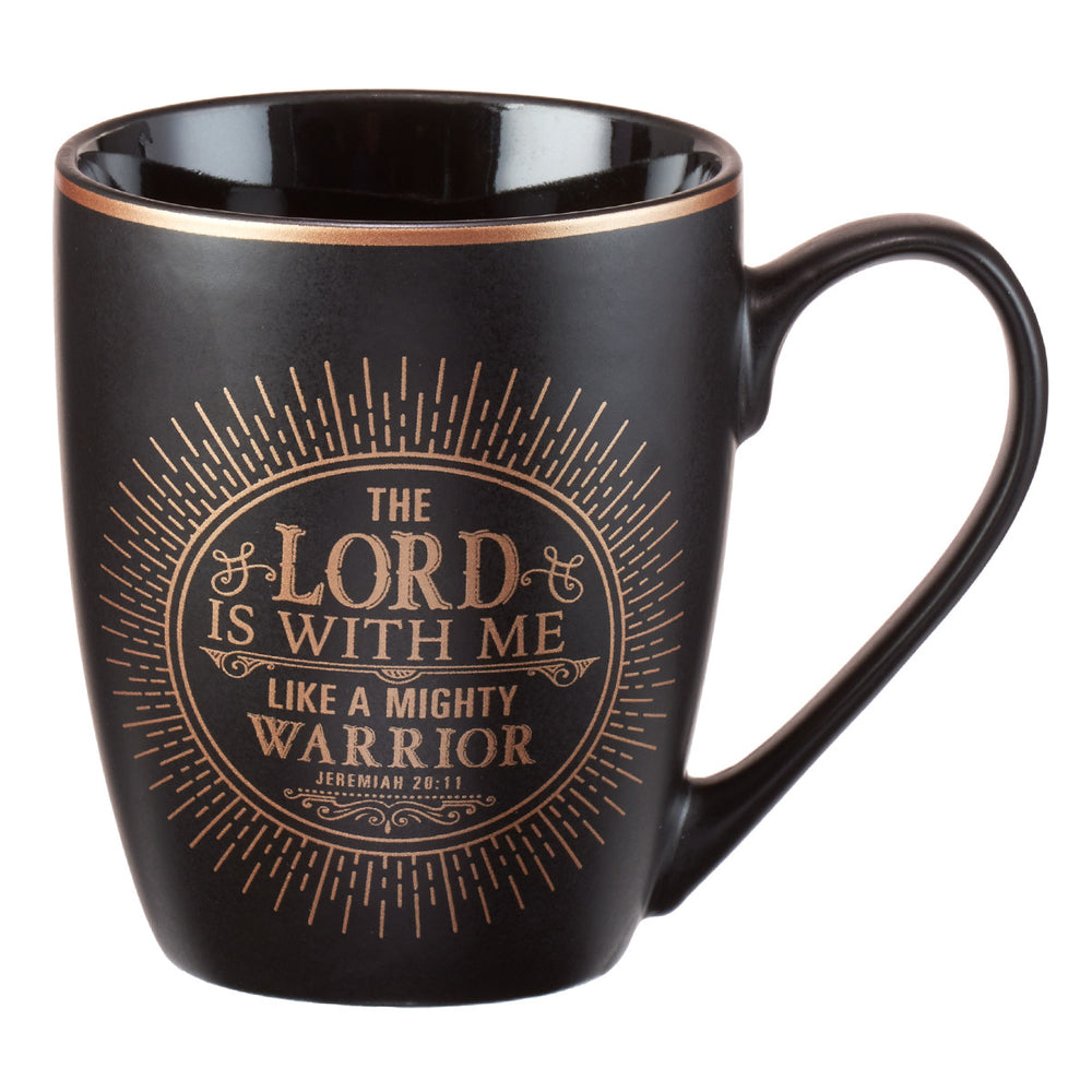 The Lord Is With Me Jeremiah 20:11 Coffee Mug