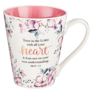 Trust in the Lord Coffee Mug - Proverbs 3:5