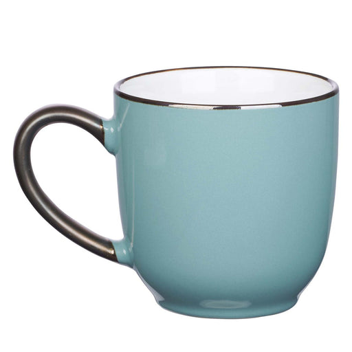 Be Joyful Ceramic Mug in Teal