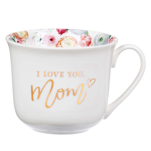 Love You Mom Ceramic Mug - Proverbs 31:29