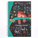 God's Love Wirebound Notebook - Eph 3:17