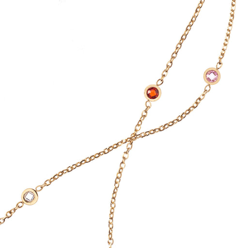 Salvation Cubic Zirconia Chain Necklace