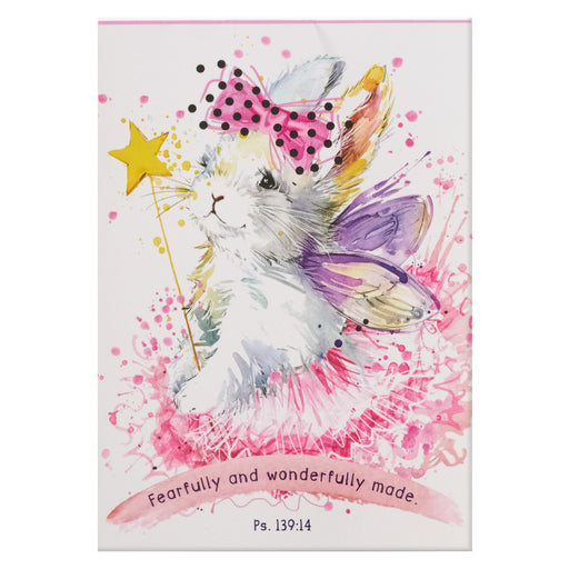 Fearfully and Wonderfully Made Illustrated Pet Notepad - Psalm 139:14 in Packs of 3: $1.99 Each