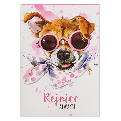 Rejoice Always Illustrated Pet Notepad in Packs of 3: $1.99 Each