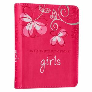 One-Minute Devotions For Girls (LuxLeather Edition)