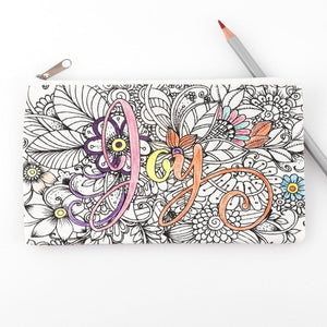 Pencil Case: Bible Journaling - Joy