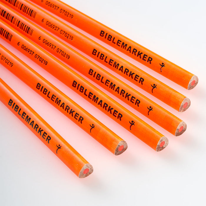 Orange Highlighter Pencil In Packs of 6. $0.50 each.