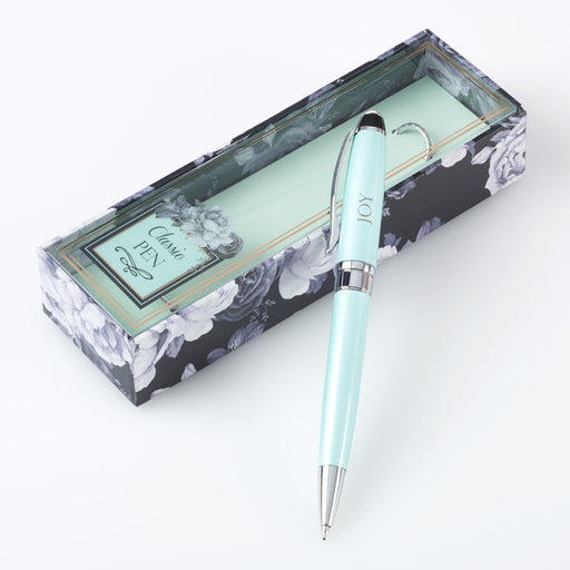 Light Green Joy - Galatians 5:22 Gift Pen