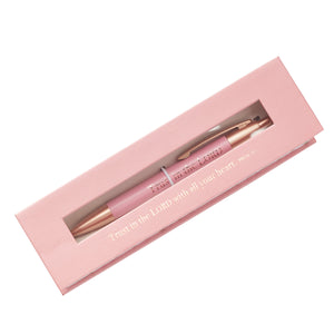 Trust in the Lord Classic Gift Pen - Proverbs 3:5