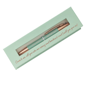 Give You Rest Classic Gift Pen - Matthew 11:25