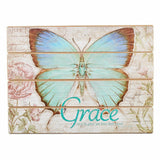 Butterfly Blessings - Ephesians 2:8 Wall Plaque