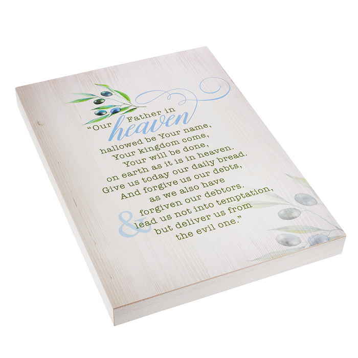 Olive Collection - Lords Prayer Wall Plaque