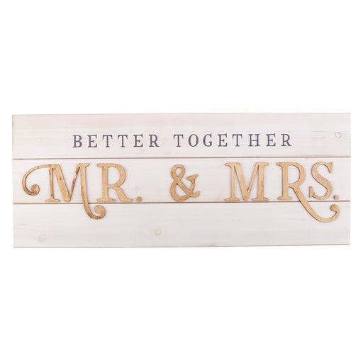 Better Together - Mr. & Mrs. Wall Art