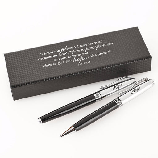 Hope Inscribed Barrel Classic Pen & Pencil Set