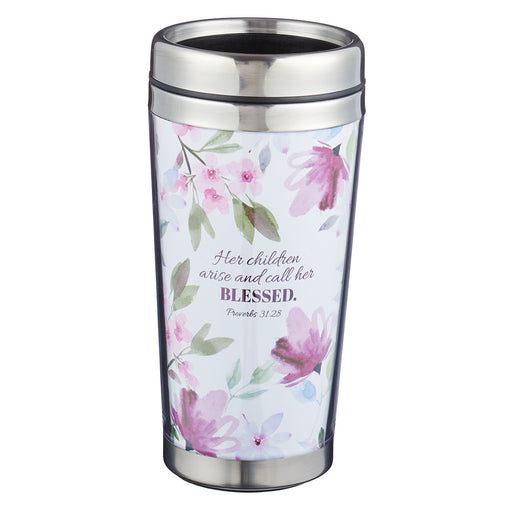 Best Mom in the World Polymer Travel Mug