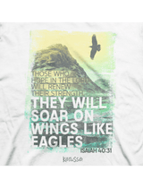 Soar On Wings Like Eagles - Men's Christian T-Shirt