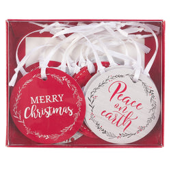 Peace on Earth Christmas Gift Tag Set