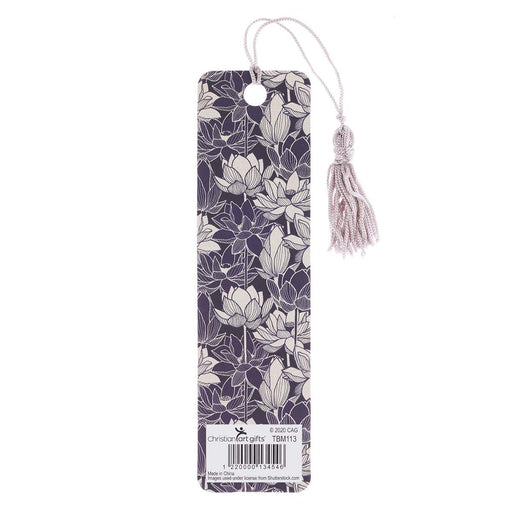 Trust in the Lord Bookmark with Tassel - Proverbs 3:5-6 IN Packs of 6