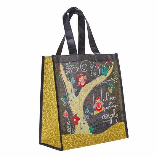 Love One Another Deeply 1 Pet 4:8 Tote Bag
